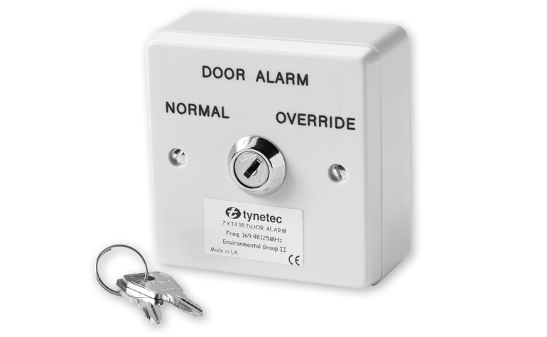 door alarm key switch