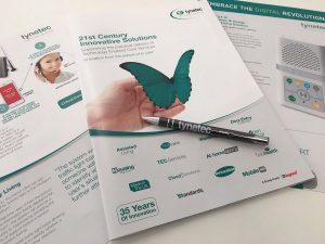 tynetec brochure and pen